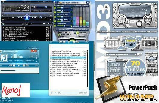 Winamp - один из старейших и популярнейших медиа-плееров, обладающий широча